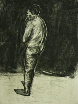 life drawing i (2008) charcoal on paper - Pui Lee