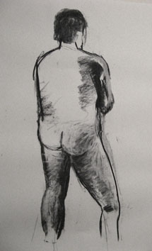 life drawing iii (2008) charcoal on paper - Pui Lee