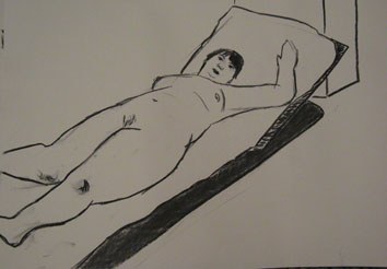 life drawing ii (2008) pen on paper - Pui Lee