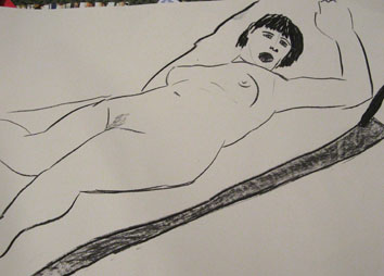 life drawing iii (2008) pen on paper - Pui Lee