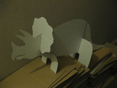 My artist prototype - the Triceratops